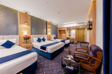 اتاق چهار تخته هتل ستاره اصفهان