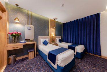 اتاق دو تخته تویین هتل ستاره اصفهان