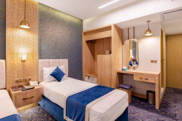دو تخته تویین هتل ستاره اصفهان